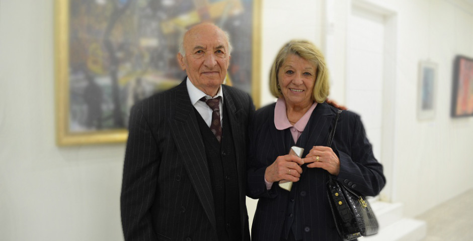 Sándor Illés and his wife (2016)